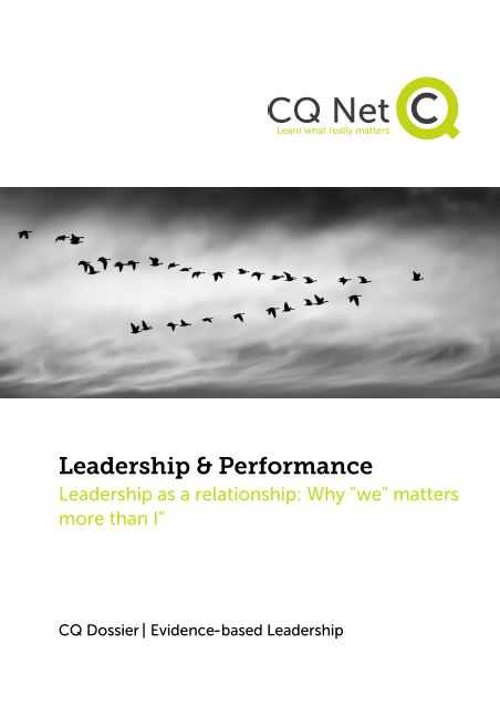 relationship leadership